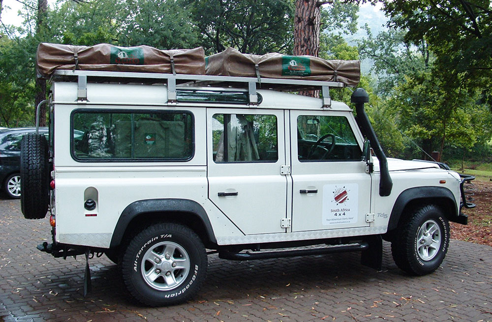 South Africa 4x4 offers one of the best value-for-money options in this comparison with its Land Rover Defender TD5 that can be rented from R1 470 per day.