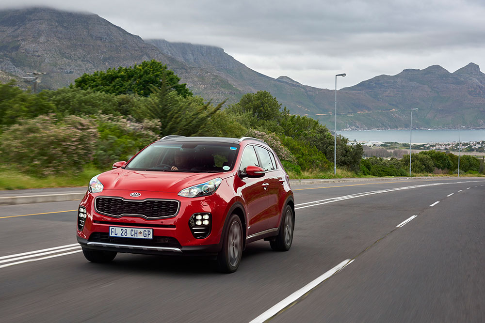 all new kia sportage with prices leisure wheels. Black Bedroom Furniture Sets. Home Design Ideas