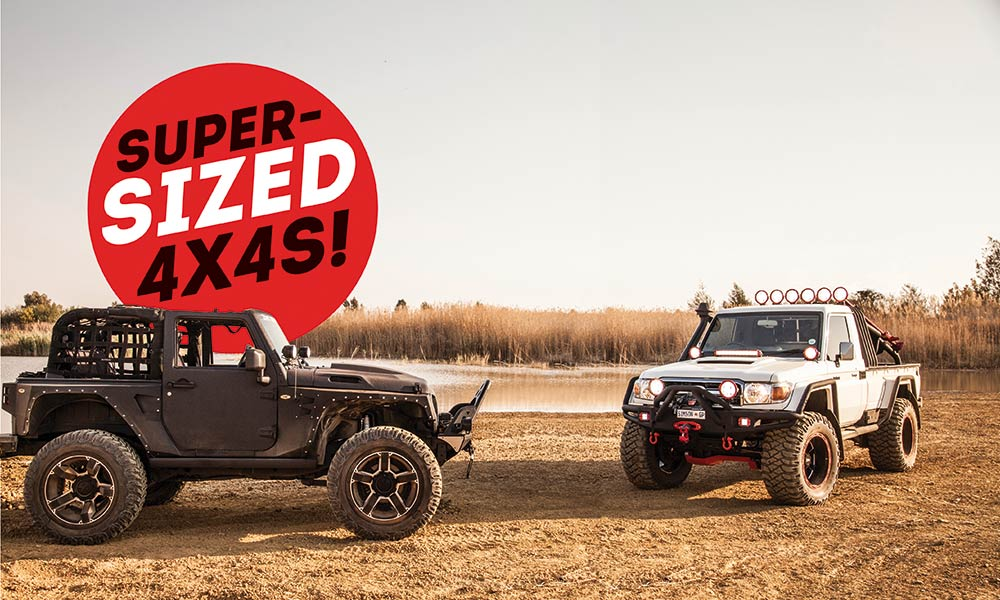 OFF-ROAD TEST - Toyota LC 79 Pick-up & Jeep Wrangler ...