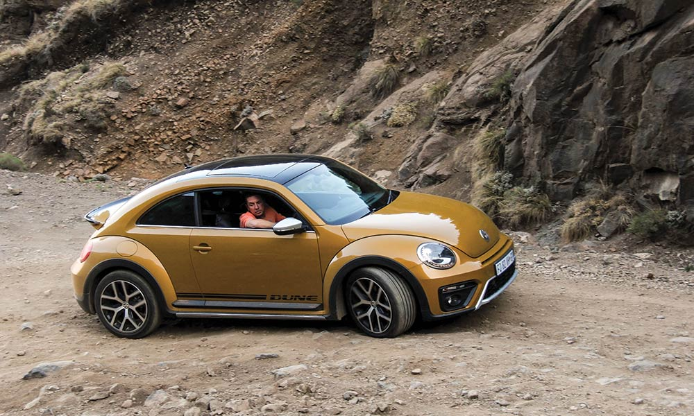 Vw Beetle Test >> Off Road Test Vw Beetle Conquers Sani Pass Again Leisure Wheels