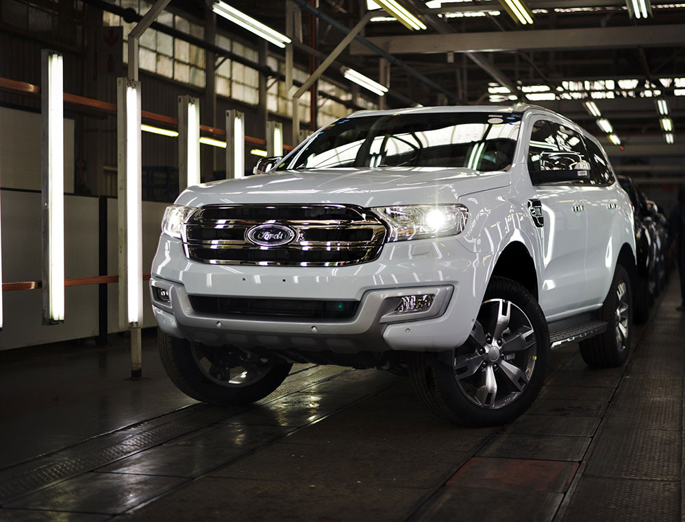 Ford Everest 2 2 Litre Being Built In South Africa