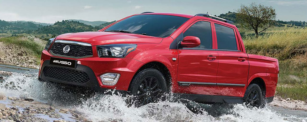 SSangyong Musso double-cab bakkie revealed
