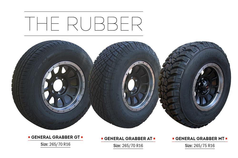 Tyre test: highway terrain vs all-terrain vs mud terrain