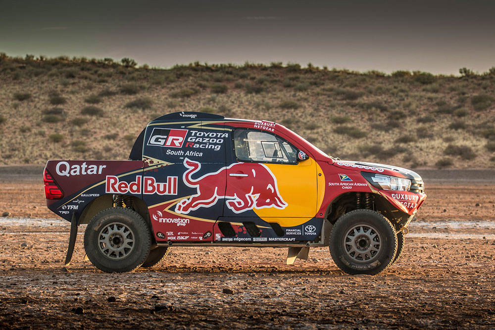 Dakar 2017: Toyota Gazoo Racing SA team - Leisure Wheels