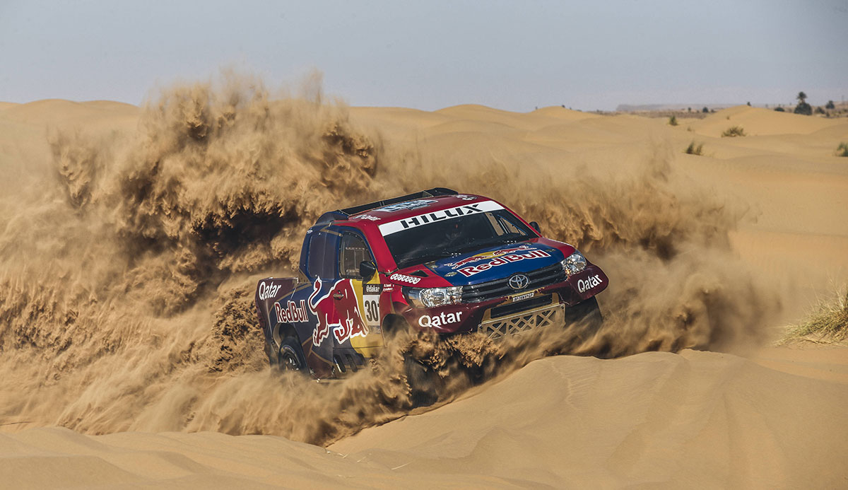 Paraguay Debut For Dakar Rally Leisure Wheels