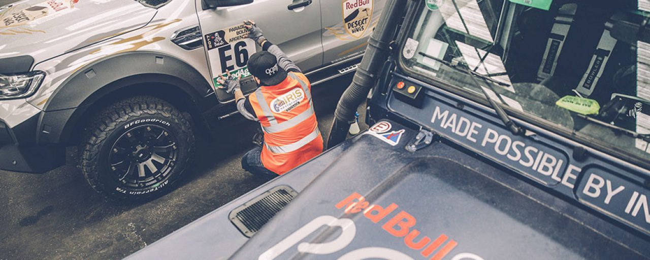 From Le Havre to the Dakar Rally, Team Red Bull is on its way