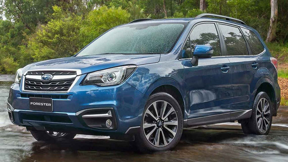 Subaru Outback and Forester score top ASV safety rating