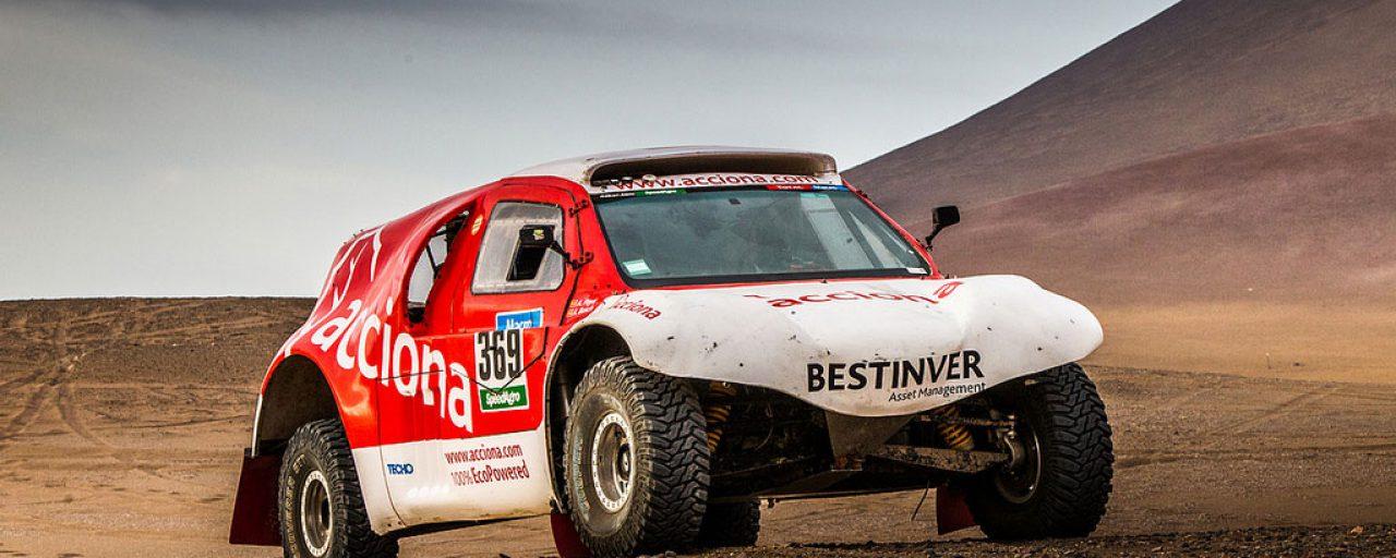 Electric car does the (whole) Dakar