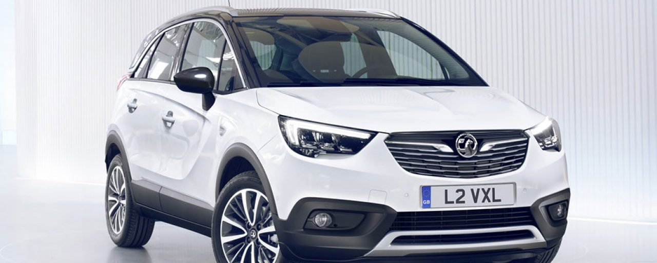 Opel reveals new Crossland X