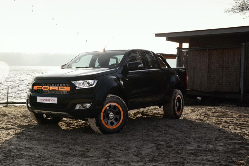 german tuner beefs up ford ranger leisure wheels. Black Bedroom Furniture Sets. Home Design Ideas