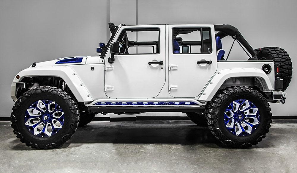 Overkill: Jeep Wrangler Stormtrooper - Leisure Wheels