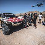 Stephane Peterhansel of Team Peugeot Total