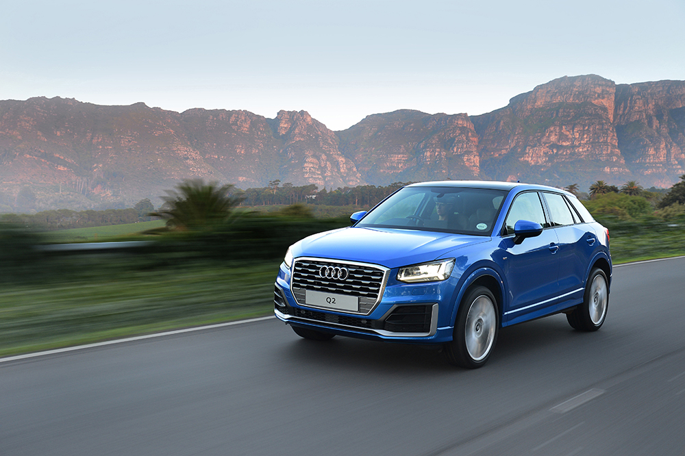 driven audi q2 1 4t fsi s tronic leisure wheels. Black Bedroom Furniture Sets. Home Design Ideas