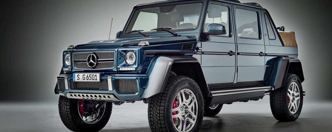 Mercedes-Maybach G650 Landaulet videos reveal its opulence
