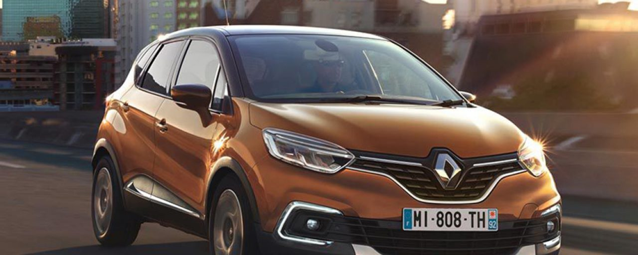 Renault Captur updated