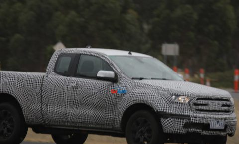 2019 Ford Ranger spotted - Leisure Wheels