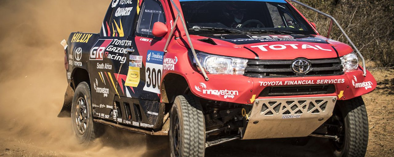 Dakar Challenge at 2017 Desert Race sponsored by Toyota