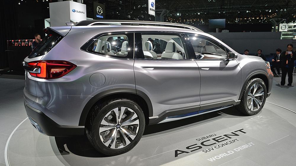 Subaru shows off Ascent seven-seater SUV concept - Leisure ...