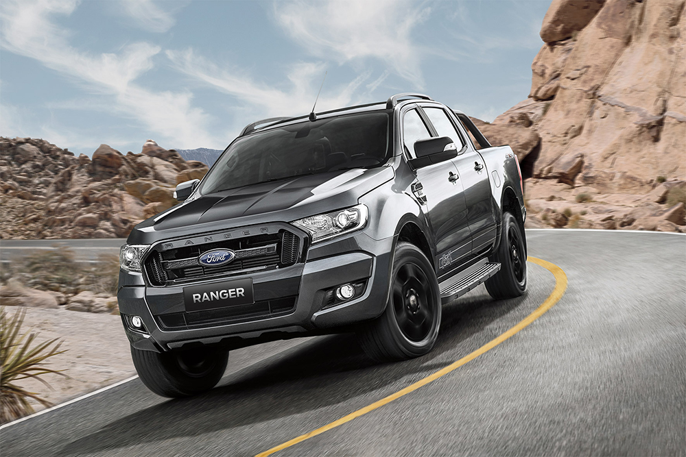 ford ranger limited edition fx4 added to model line up leisure wheels. Black Bedroom Furniture Sets. Home Design Ideas