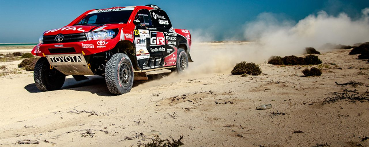 Third place overall for Pouter and von Zitzewitz in Qatar