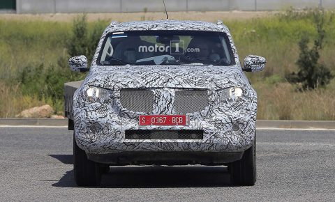 2018 Mercedes Benz X Class Spotted During On And Off Road