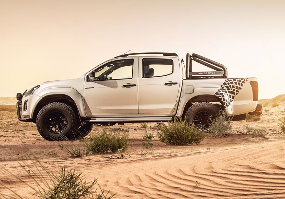 isuzu d max at35 now available in the uae leisure wheels. Black Bedroom Furniture Sets. Home Design Ideas