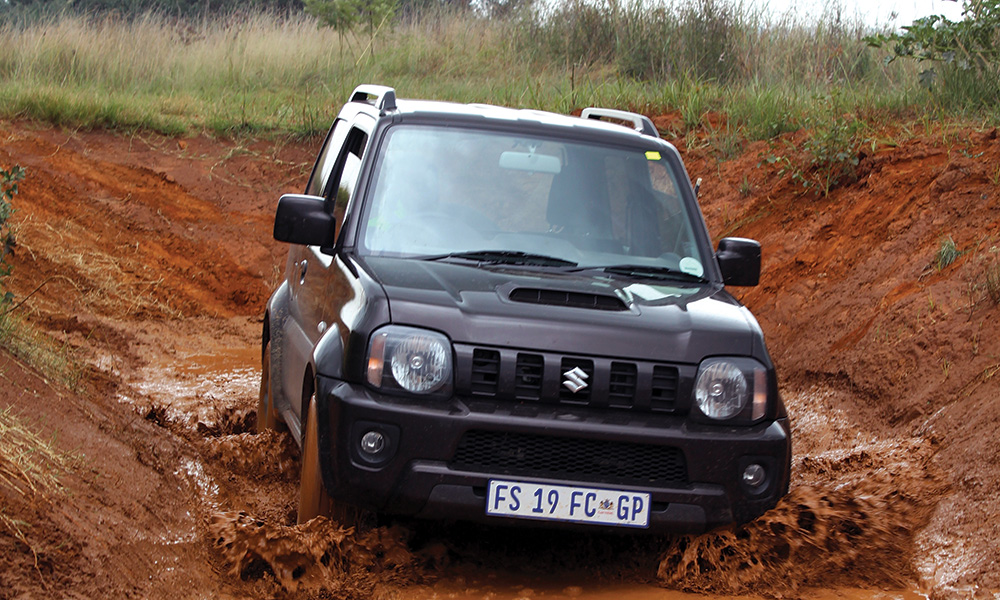 Off-road test: Suzuki Jimny - Leisure Wheels