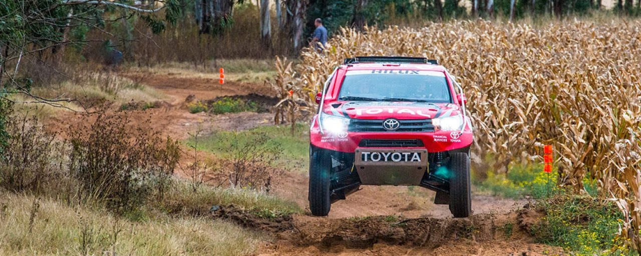 Toyota Gazoo Racing SA ready for battle at 2017 Toyota Kalahari Botswana 1000 Desert Race