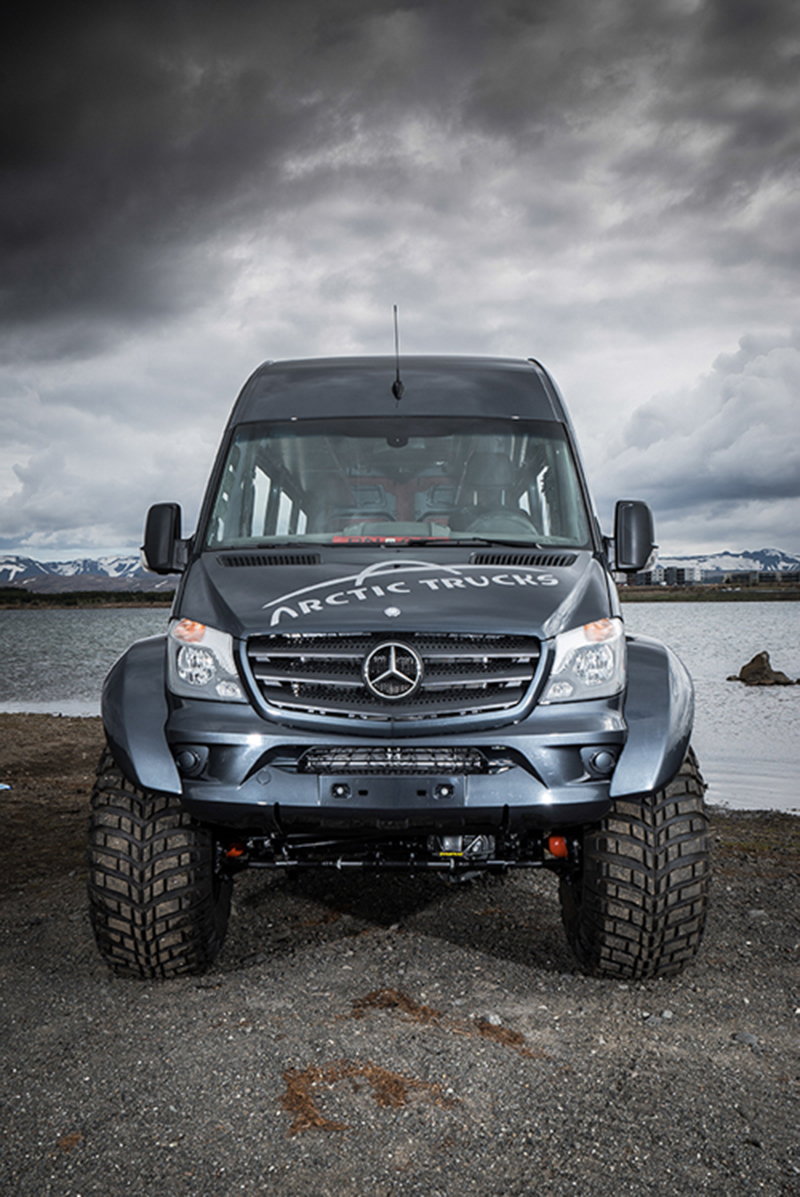 mercedes benz sprinter arctic trucks conversion leisure wheels