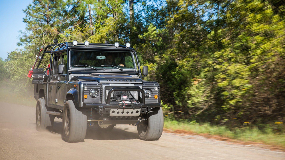 Project Viper: a kick-ass Land Rover Defender conversion - Leisure