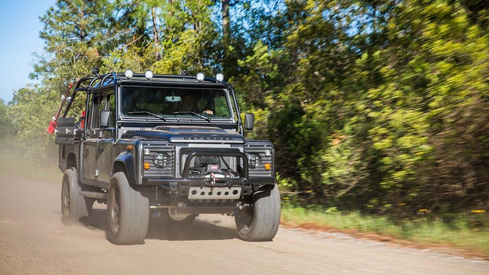 Project Viper: a kick-ass Land Rover Defender conversion