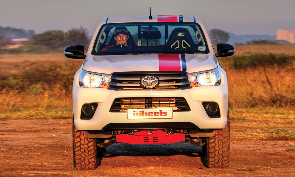 Toyota Hilux 2 4GD-6 4x4 double cab SRS - Leisure Wheels