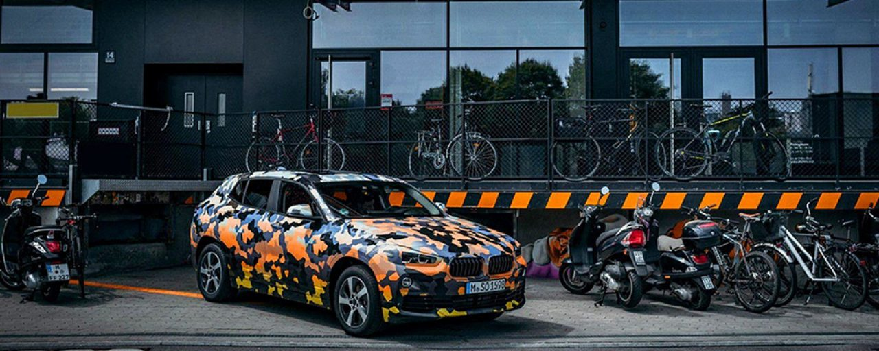 BMW reveals X2 SUV in grungy city preview