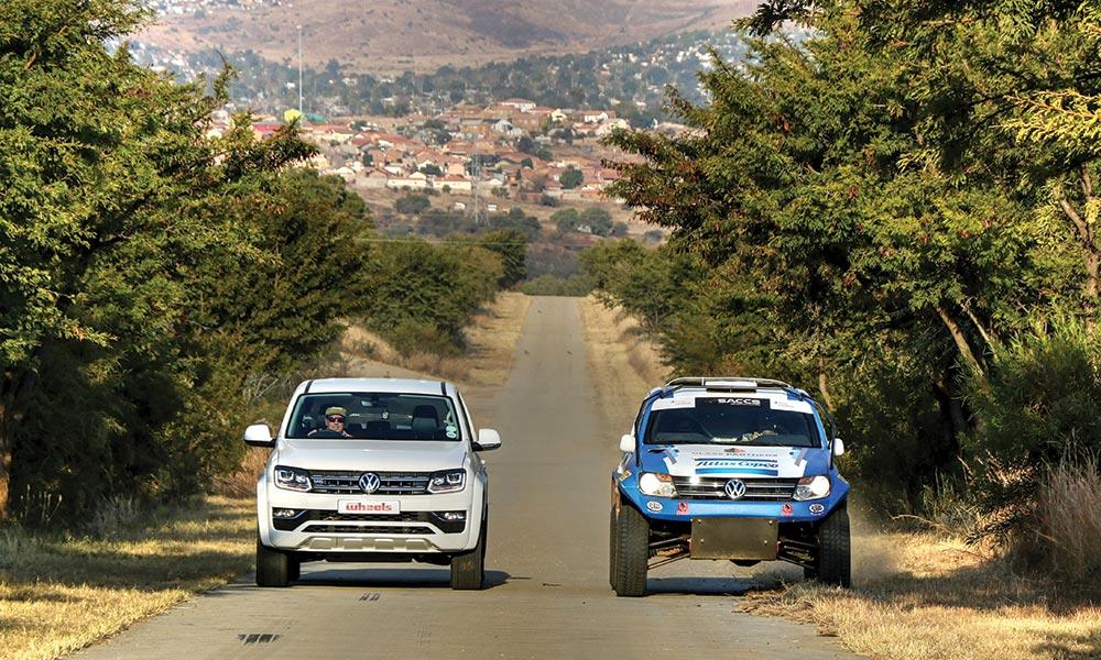Amarok V6 vs Amarok 2 5T rally bakkie - Leisure Wheels