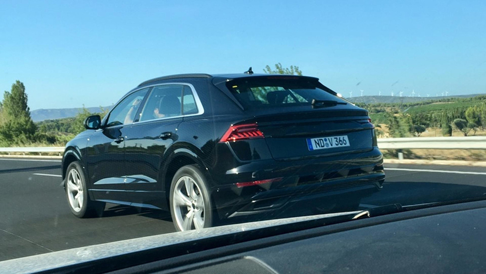 Audi Q8 Spotted Undisguised Leisure Wheels