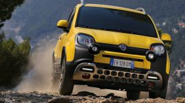 Fiat Panda goes off road