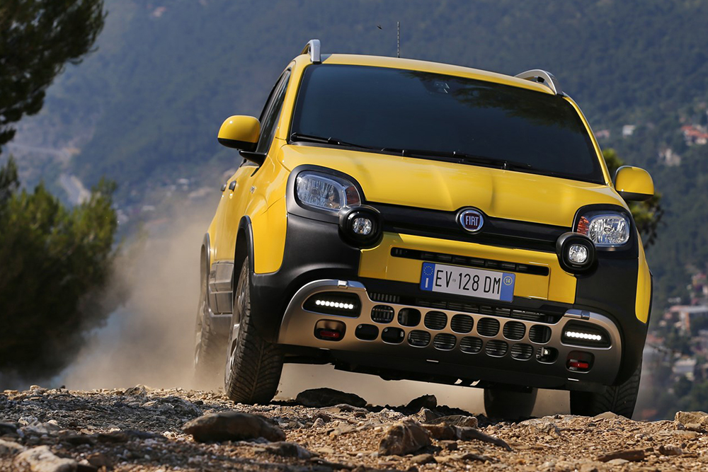 Fiat Panda goes off road - Leisure Wheels