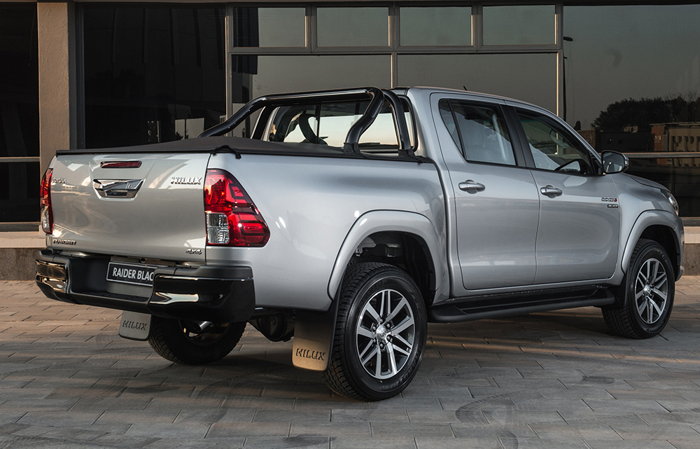 Toyota Hilux Black Special Edition In Sa Leisure Wheels