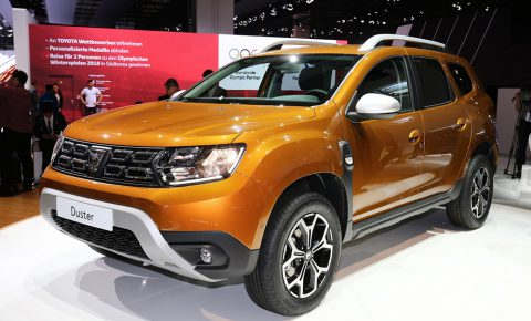 New 2018 renault duster in frankfurt badged as dacia for Interieur duster 2018
