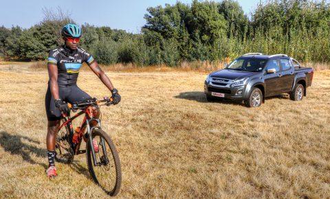 ISUZU KB versus a mountain bike