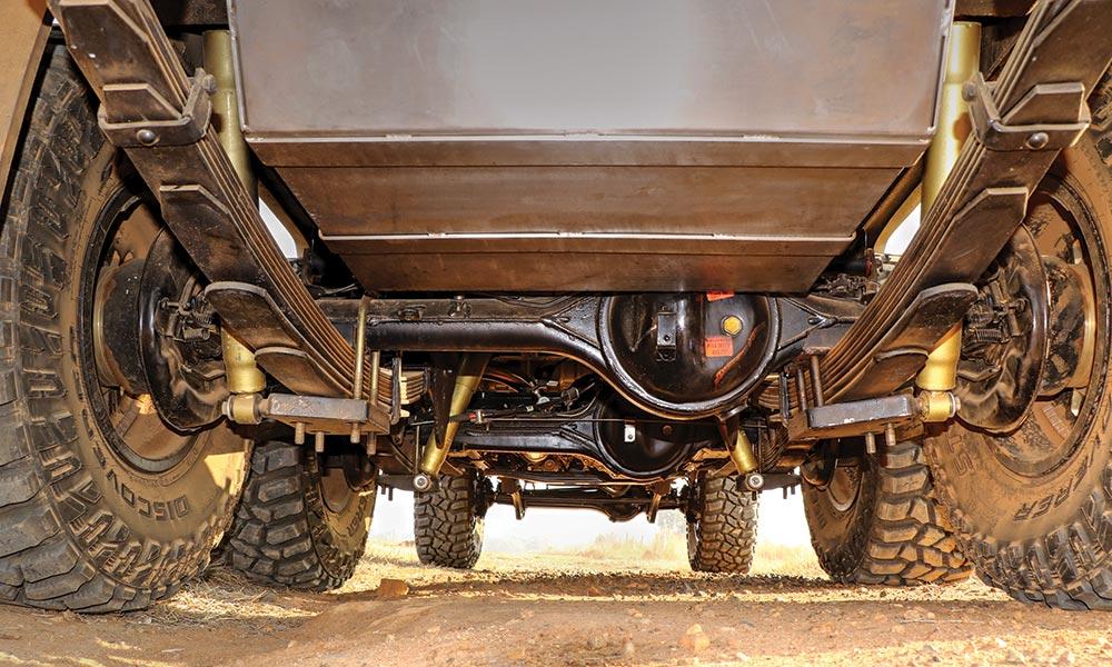 OFF-ROAD TEST: Toyota Land Cruiser 79 D/C V8 6x6 - Leisure