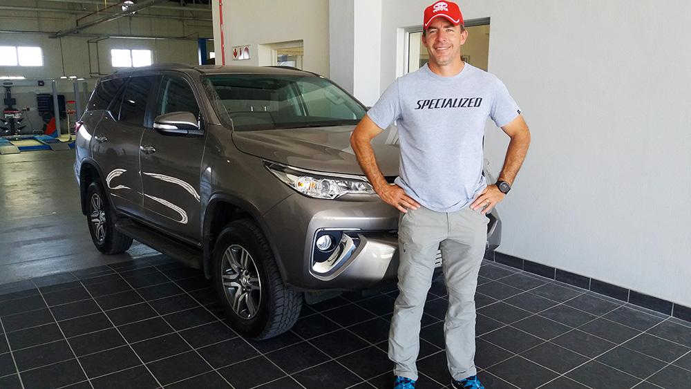 2016 Toyota Fortuner 4x4 Challenge winner interviewed