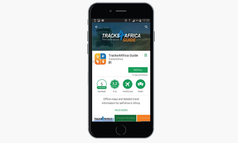 Smartphone GPS apps Leisure Wheels