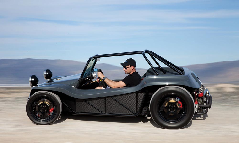 As You D Expect He Owns A Manx Buggy Has 1970 That Turned Into One Very Modern Recreational Vehicle While Retaining The Essence Of