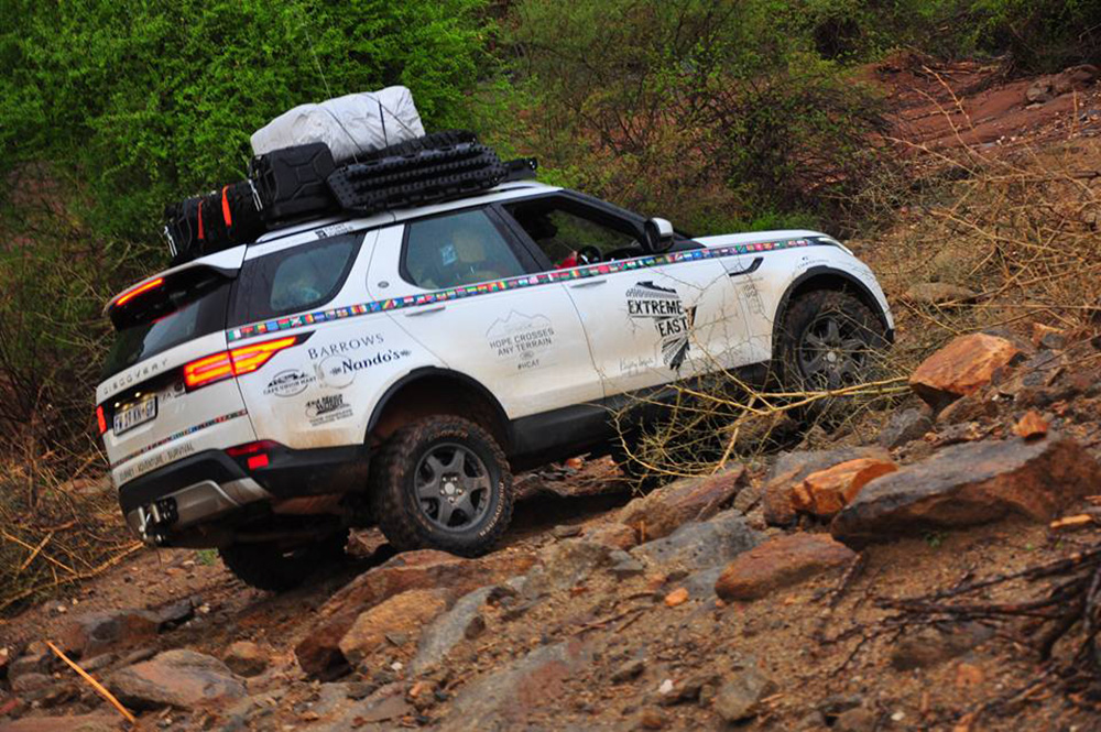 Kingsley Holgate Takes The New Land Rover Discovery Into