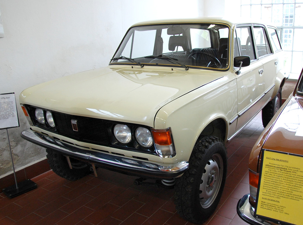 Polski Fiat 125SP Kombi 4x4  Leisure Wheels