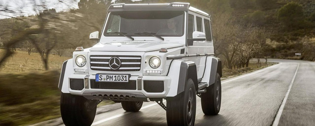 Mercedes G500 4×4² production to end before November