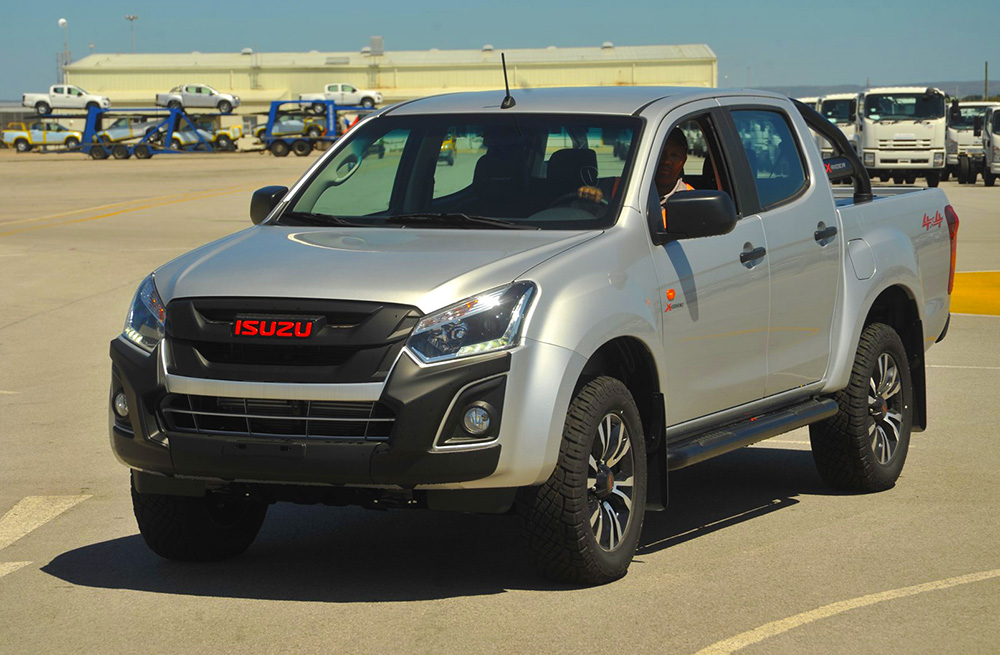 isuzu kb x-rider 4x4 double cab to be available in other african
