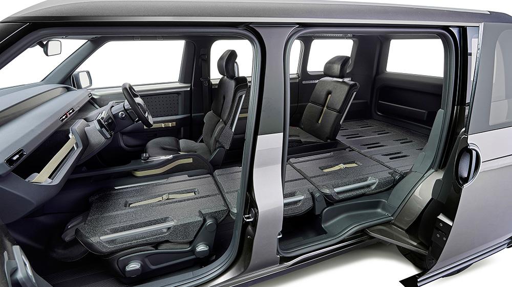 toyota tj cruiser concept looks like a toolbox on wheels leisure wheels. Black Bedroom Furniture Sets. Home Design Ideas