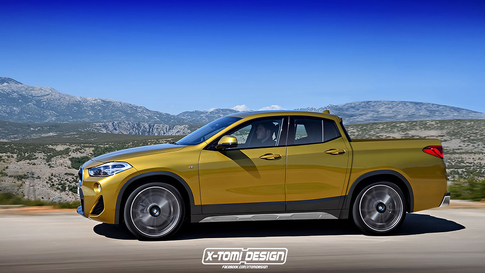 The Concept Of A Bmw X2 Bakkie May Not Be Completely